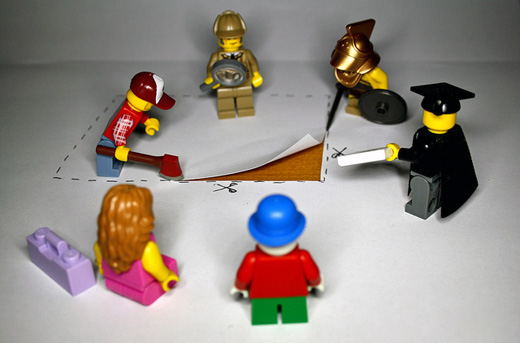 Lego people photo by CJ Isherwood